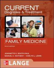 Current Diagnosis & Treatment in Family Med.: Lange