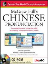 McGraw-Hill's Chinese Pronunciation with CD-ROM