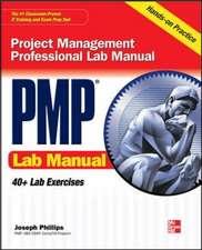 PMP Project Management Professional Lab Manual