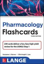 Lange Pharmacology Flash Cards, Third Edition