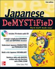Japanese DeMYSTiFieD with Audio CD, 2nd Edition