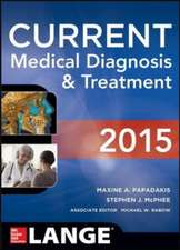 CURRENT Medical Diagnosis and Treatment : Lange
