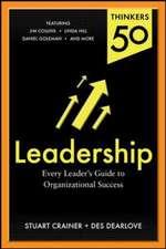 Thinkers 50 Leadership: Organizational Success through Leadership