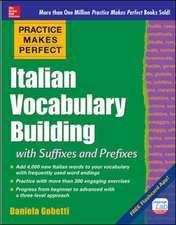 Practice Makes Perfect: Italian Vocabulary Builder