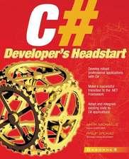C# Developer's Headstart