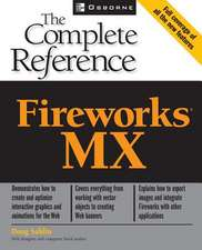 Fireworks (R) MX:  The Complete Reference