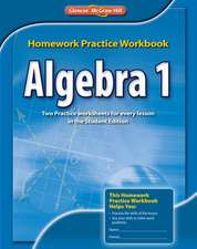 Algebra 1, Homework Practice Workbook:  A History of the United States, Student Suite, 1-Year Subscription