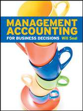 SW: Management Accounting for Business Decisions with Connect Plus card