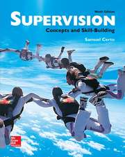 Supervision: Concepts and Skill-Building
