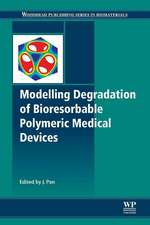 Modelling Degradation of Bioresorbable Polymeric Medical Devices