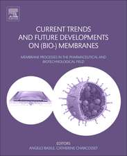 Current Trends and Future Developments on (Bio-) Membranes: Membrane Processes in the Pharmaceutical and Biotechnological Field