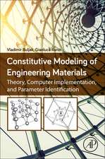 Constitutive Modeling of Engineering Materials