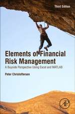 Christoffersen's Elements of Financial Risk Management: A Buyside Perspective Using Excel and MATLAB