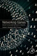Networking Games: Network Forming Games and Games on Networks
