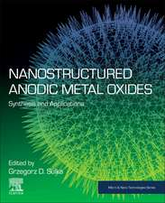 Nanostructured Anodic Metal Oxides