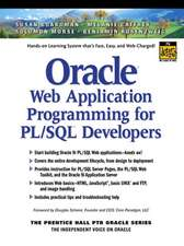 Oracle Web Application Programming for PL/SQL Developers