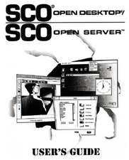SCO Open Desktop/SCO Open Server User's Guide