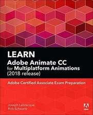 Learn Adobe Animate CC for Multiplatform Animations