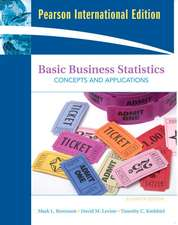 Basic Business Statistics: International Version