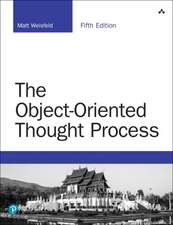 OBJECTORIENTED THOUGHT PROCESS THE