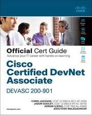 Cisco Certified Devnet Associate Devasc 200-901 Official Cert Guide
