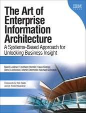 The Art of Enterprise Information Architecture