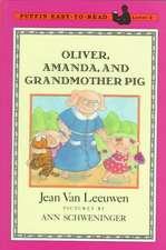 Oliver Amanda and Grandmother Pig