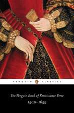 The Penguin Book of Renaissance Verse: 1509-1659