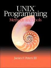 Unix Programming: Methods and Tools