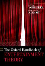 The Oxford Handbook of Entertainment Theory