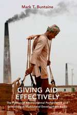 Giving Aid Effectively