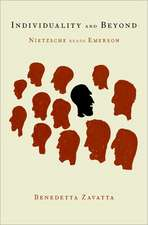 Individuality and Beyond: Nietzsche Reads Emerson