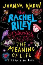 The Rachel Riley Diaries: The Meaning of Life