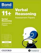 Bond 11+: Verbal Reasoning: Assessment Papers: 7-8 years