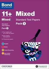 Bond 11+: Mixed: Standard Test Papers: Pack 1