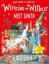 Winnie and Wilbur Meet Santa with audio CD