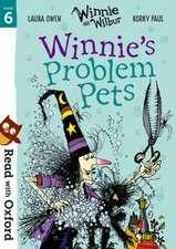 Read with Oxford: Stage 6: Winnie and Wilbur: Winnie's Problem Pets