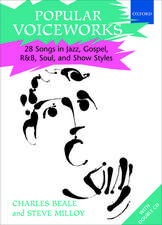 Popular Voiceworks 1: 28 Songs in Jazz, Gospel, R&B, Soul, and Show Styles