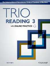 Trio Reading 3 Students Book Pack