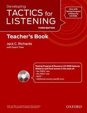Tactics for Listening: Developing: Teacher's Resource Pack