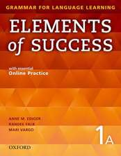 Elements of Success: 1: Split Edition Student Book A with essential Online Practice