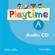Playtime: A: Class CD: Stories, DVD and play- start to learn real-life English the Playtime way!