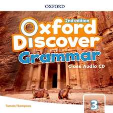 Oxford Discover: Level 3: Grammar Class Audio CDs