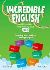 Incredible English: 3 & 4: DVD Activity Book