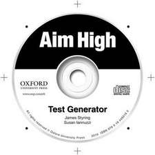 Aim High: Levels 1-5: Test Generator: A new secondary course which helps students become successful, independent language learners.