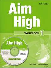 Aim High Level 1 Workbook & CD-ROM