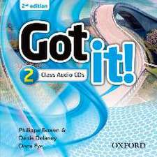 Got it!: Level 2: Class Audio CD (2 Discs)