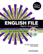 English File: Beginner: Student's Book with iTutor and Online Skills