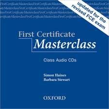 First Certificate Masterclass:: Class Audio CDs (2)