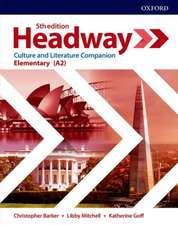 Headway: Elementary Culture & Literature Companion